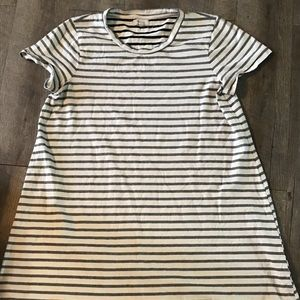 Madewell striped T-shirt dress size XL